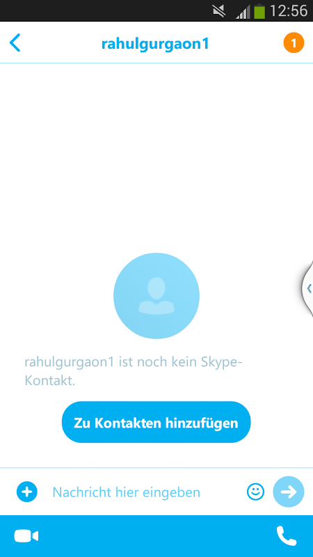 Skype-Chat für Erwachsene