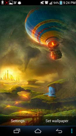 Tornado 3d 3 Live Wallpaper Screenshot 1