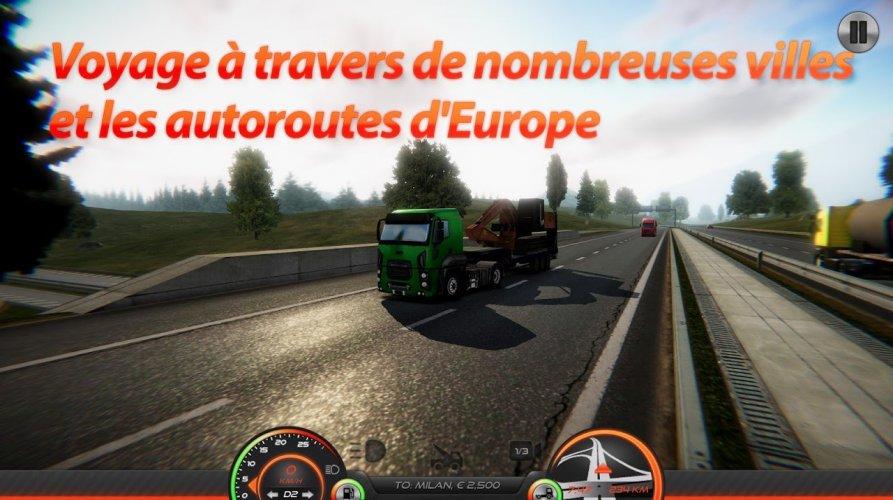 Simulateur de Camion : Europe 2 screenshot 4