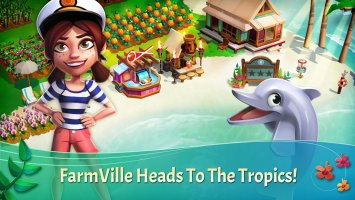 FarmVille: Tropic Escape Screen