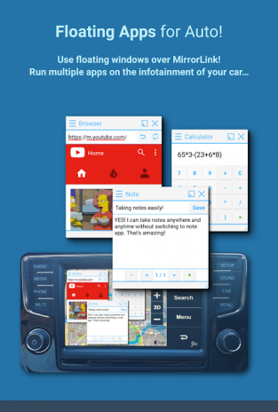 Full MirrorLink | Floating Apps for Auto 4 8 1 Download APK