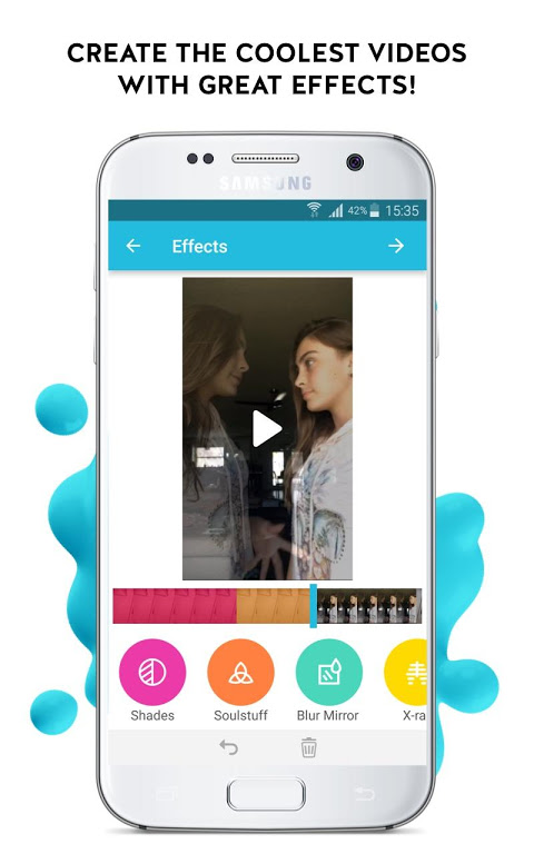 Funimate: Music Video Clip Editor to be Video Star screenshot 1