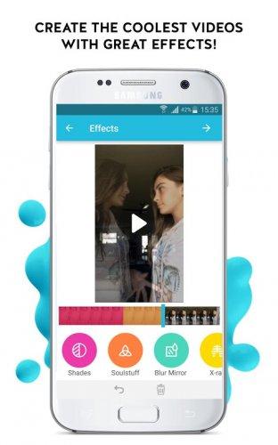 Funimate: Video Editor & Music Clip Star Effects screenshot 1
