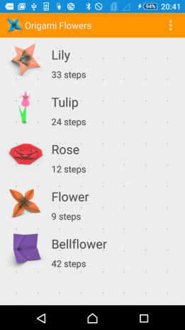 Origami Flower Instructions 3d 102 Download Apk For Android Aptoide