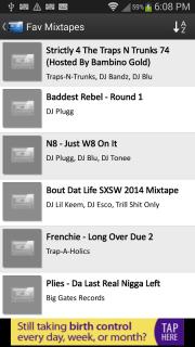 Mix.Hiphop Mixtapes screenshot 1