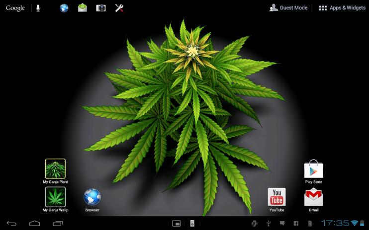 My Ganja Plant Live Wallpaper Screenshot 5