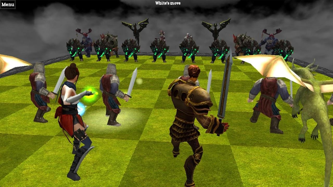 Chess 3D Animation : Real Battle Chess 3D Online screenshot 2