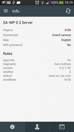 SAMP Console 1 1 Download APK for Android - Aptoide