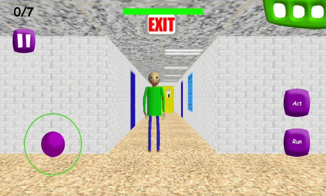 Baldi's Basics Math game in Education and learning 1.4 screenshot 2