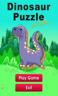 Dinosaur Puzzle for Toddlers screenshot 1