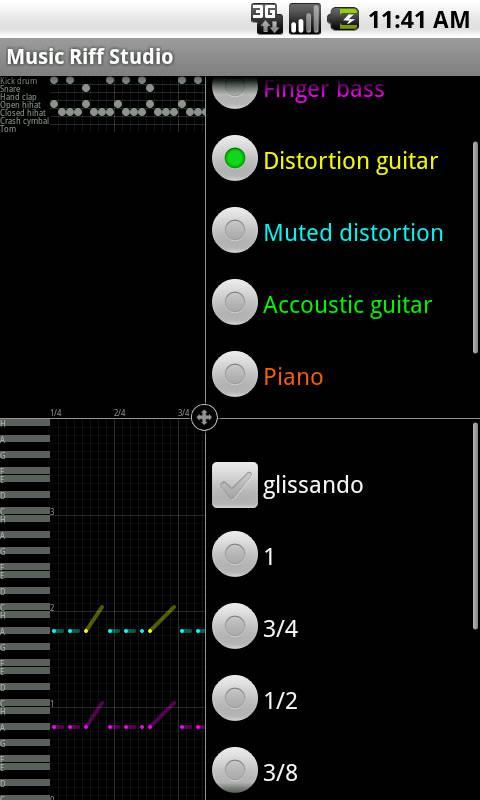 Music Riff Studio screenshot 1