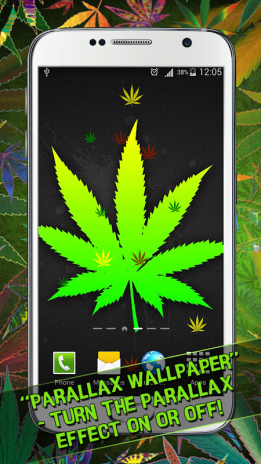 Weed Live Wallpaper Screenshot 4