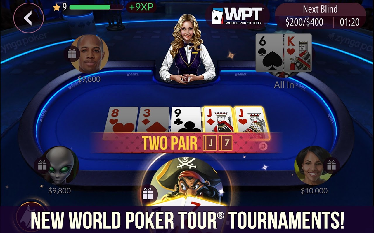 Zynga Poker – Texas Holdem screenshot 1