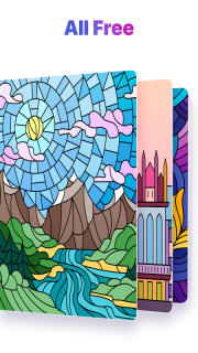 Paint by Numbers: New Colouring Pictures Book Free screenshot 3