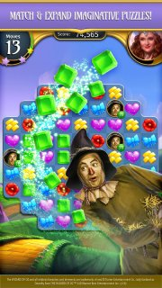 The Wizard of Oz Magic Match 3 screenshot 3