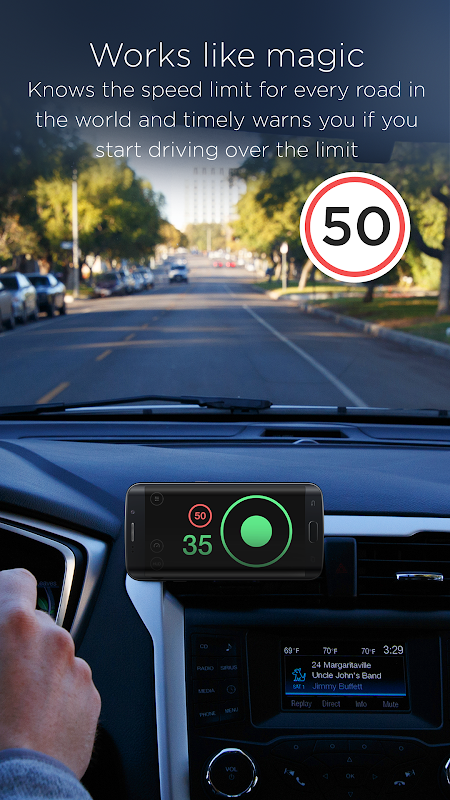 Speedometer by HUDWAY screenshot 1