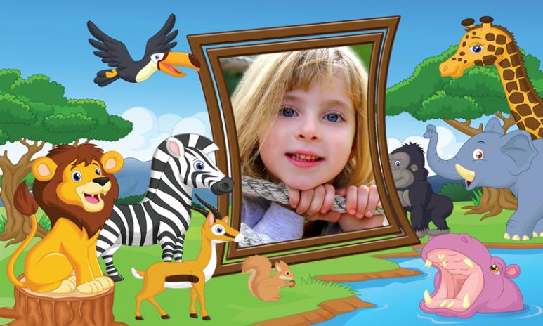 niños selva marcos de fotos 1.5 Descargar APK para Android - Aptoide