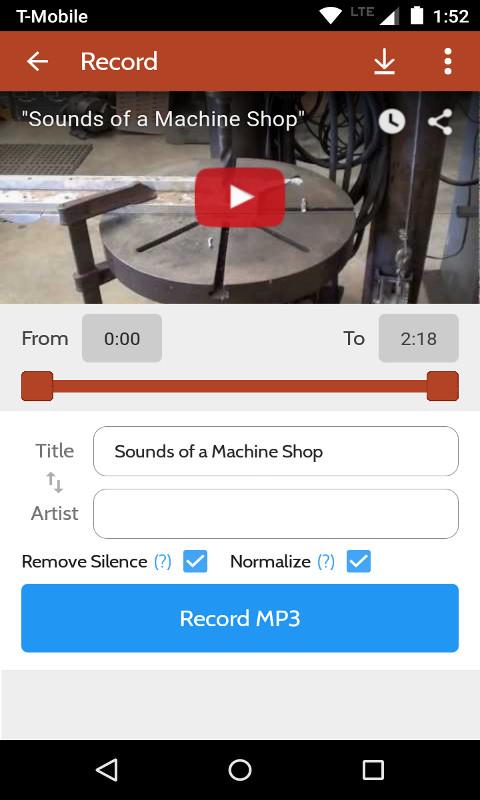 Peggo - YouTube to MP3 Converter screenshot 3
