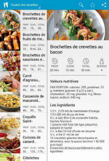 Recettes cuisine fran aise download apk for android - Recette cuisine traditionnelle francaise ...