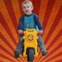 Kuba motorbike for kids - free