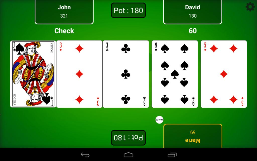 Poker table finder software