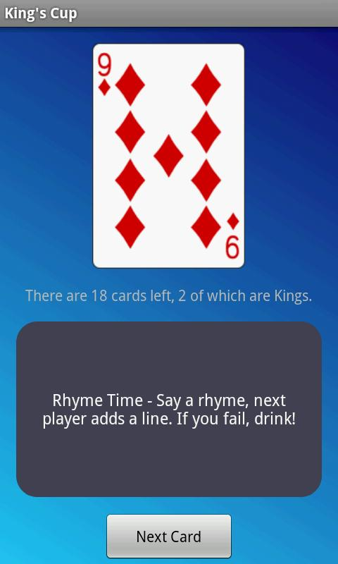 King's Cup - Drinking Game screenshot 2