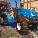 Simulador de la agricultura tractor