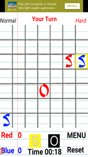 SOS Spiel screenshot 5