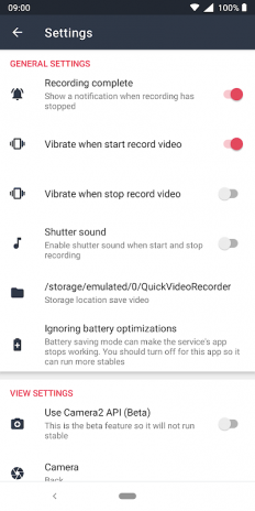 Quick Video Recorder - Background Video Recorder 1 3 2 0-beta01
