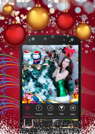christmas photo video maker screenshot 3