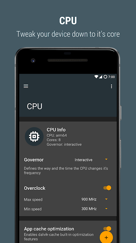 Androoster screenshot 2