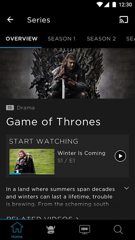 HBO screenshot 3