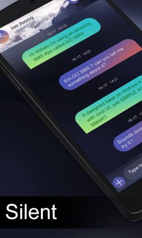 Silent Sms App