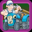 Traktor-Werkstatt-Mechaniker