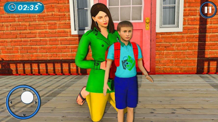 Amazing Family Game Virtual Mother Simulator screenshot 1