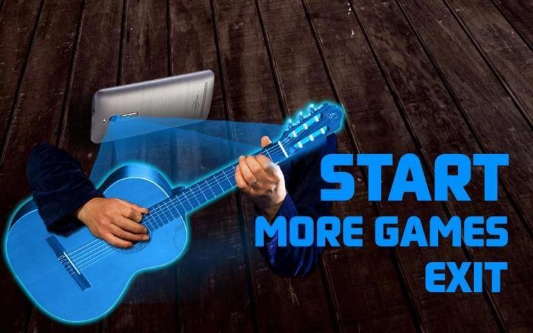 Hologram Guitar 3D Bas screenshot 1