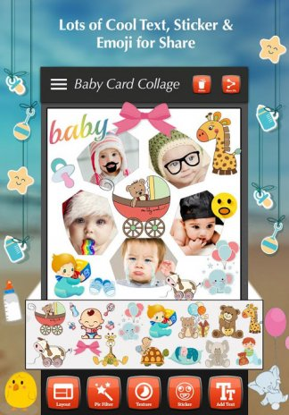 baby collage maker screenshot 6