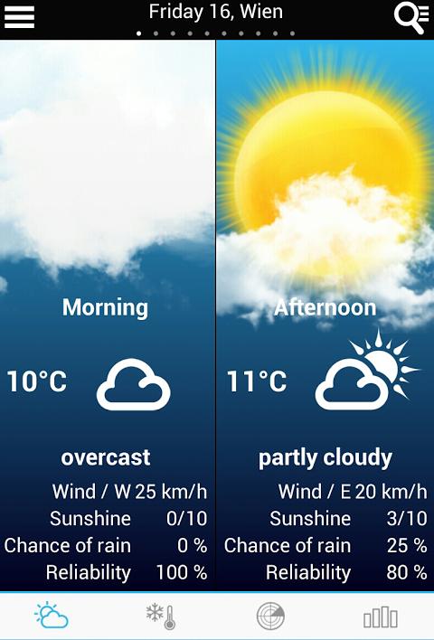 Tempo em Bélgica screenshot 2