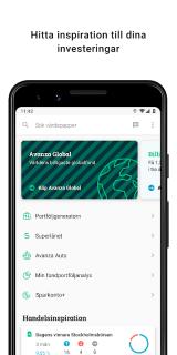 Avanza screenshot 1