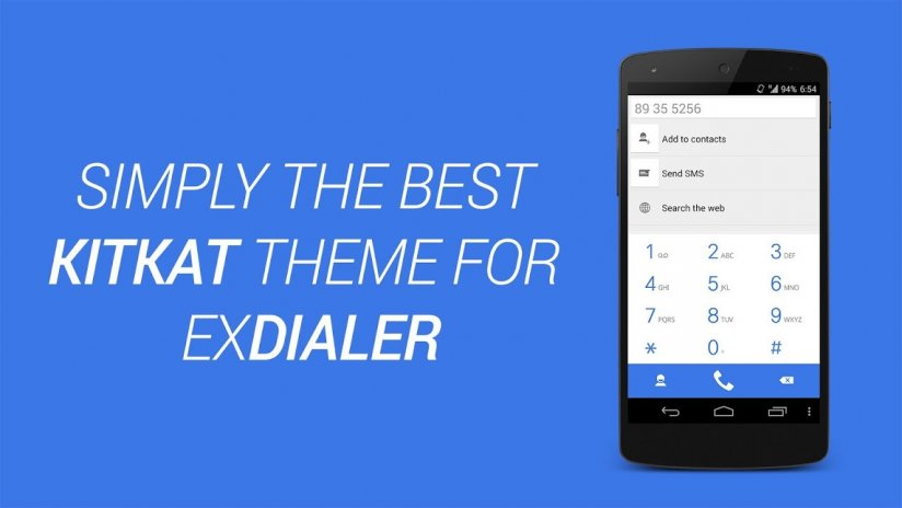 ExDialer Theme KitKat Light 1 4 Download APK for Android