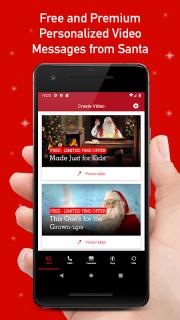 PNP–Portable North Pole™ Calls & Videos from Santa screenshot 1
