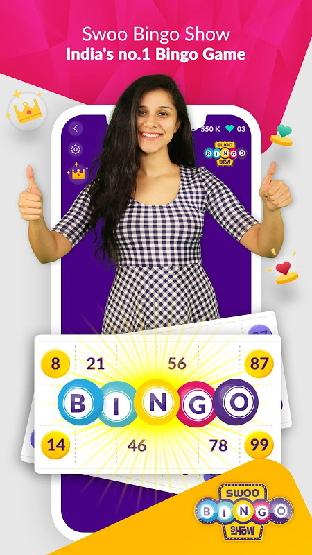 SWOO - Live Games, Trivia , Bingo & more screenshot 3