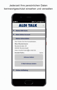 ALDI TALK screenshot 4