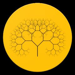 Fractal Tree Live Wallpaper Customisable Unique 20