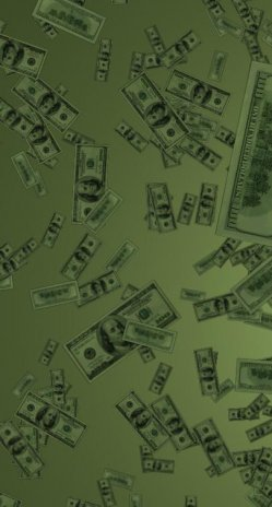 Money Rain Live Wallpaper Screenshot 1