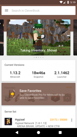 minecraft latest version 1.14 apk download android