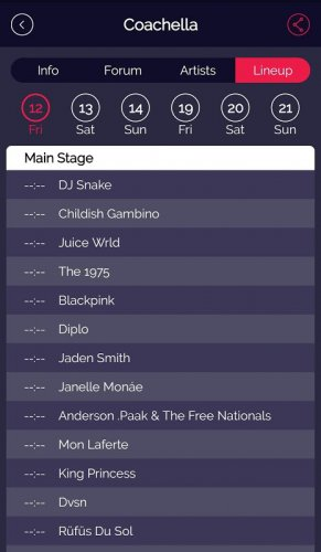 FestivAll, o teu guia de Festivais de Música screenshot 4