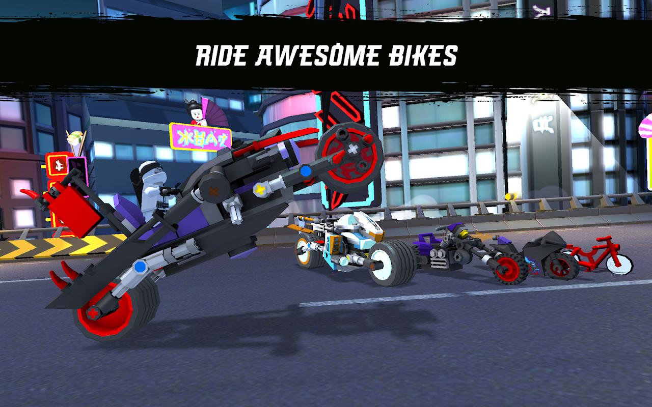 Ride Ninja screenshot 1