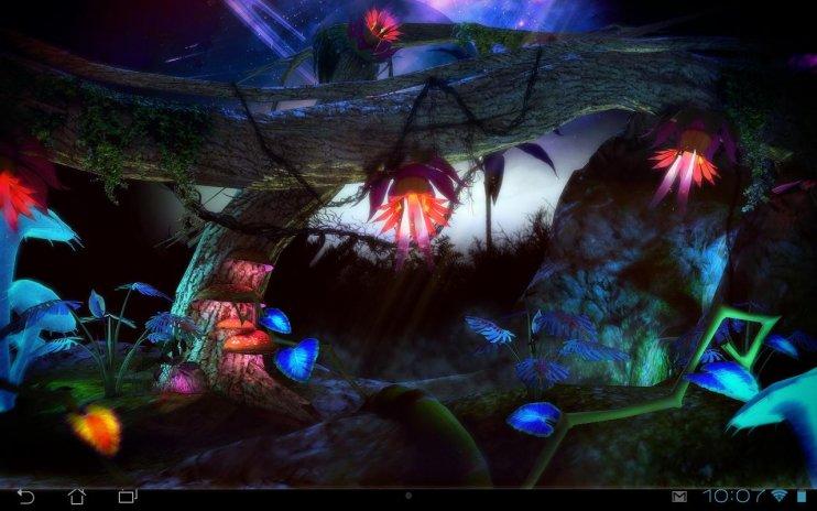 Alien Jungle 3d Live Wallpaper 2