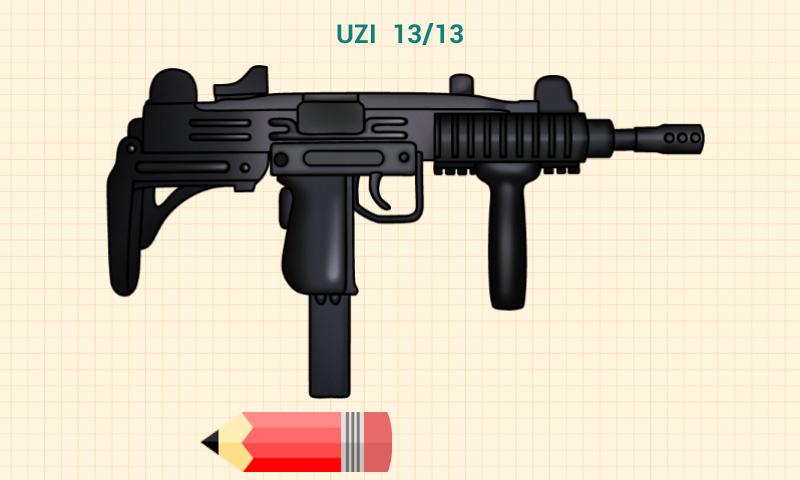 Armas De Fuego Dibujos